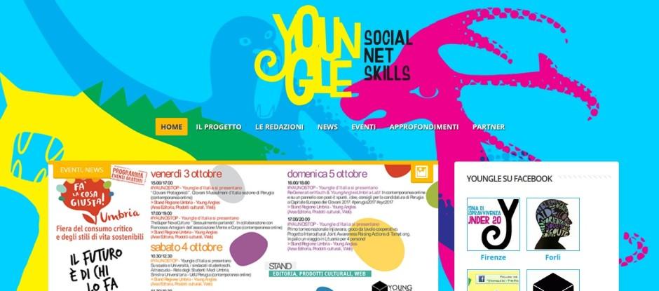 Visita il sito del progetto Youngle.